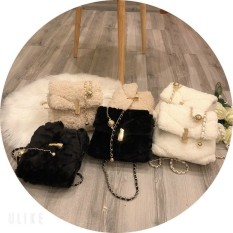 XẢ KHO KHỎI LO VỀ GIÁ [NEW HOT]Túi bông đeo chéo dây xích thời trang mới 2020(xinh yêu lắm có video quay sẵn) – MORIS