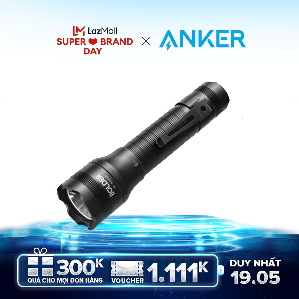 [ƯU ĐÃI ĐỘC QUYỀN 19.05 – MUA LÀ CÓ QUÀ] Đèn pin siêu sáng ANKER Bolder LC40 – T1423