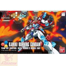 Đồ Chơi Lắp Ráp Mô Hình Gundam Bandai Anime Nhật HG 1/144 Kamiki Burning Gundam Serie HGBF Gundam Build Fighters