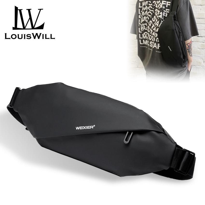 Túi đeo chéo đeo vai thiết kế đơn giản chống nước dành cho nam quai đeo có thể điều chỉnh...