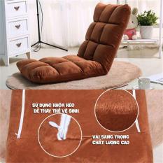 Ghế lười tựa lưng ngồi bệt Tatami thông minh 5 cấp độ điều chỉnh, ghế thư giãn, ghế văn phòng ( màu ngẫu nhiên ) – MANVTAN02