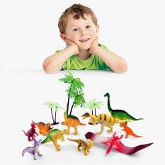Bộ đồ chơi công viên khủng long dạ quang cho bé