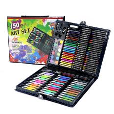 Bút chì màu 150 chi tiết cho các bé màu đen