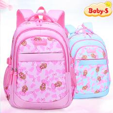 Balo học sinh hình công chúa xinh xắn phù hợp cho bé gái 6-10 tuổi Baby-S – SB009