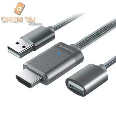 Cáp chuyển tín hiệu USB sang HDMI Hagibis cho tất cả điện thoại