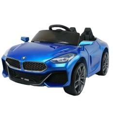 Ô tô xe điện trẻ em BMW YT-6688 tự lái và remote 2 chỗ 2 động cơ 6V45AH bảo hành 6 tháng (Đỏ-Xanh-Trắng)