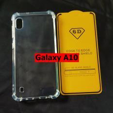 Bộ ốp lưng chống sốc kính cường lực full màn hình Galaxy A10