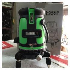 Máy laser t-boss kèm chân 5 tia xanh
