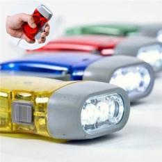 [SẠC PIN BẰNG TAY] Đèn Pin Sạc Tự Động Bằng Bóp Tay