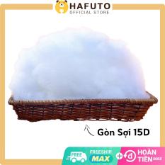 Bông gòn nhồi gối Hafuto mềm mịn đàn hồi cao