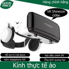 Kính thực tế ảo 3D VR Shinecon G06E – kèm tai nghe