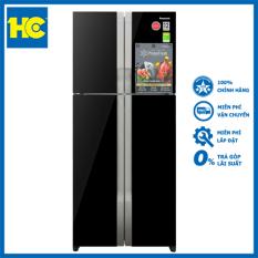 Tủ lạnh Side by Side Inverter Panasonic NR-DZ600GKVN 550L cảm biến Econavi tiết kiệm điện, công nghệ Panorama làm lạnh nhanh, phân bố nhiệt đều