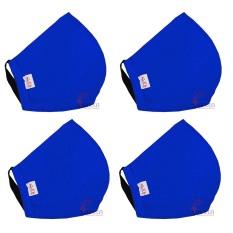 Combo 4 khẩu trang vải Việt Nam loại tốt 3 lớp bảo vệ phòng dịch bệnh