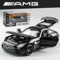 [Nhập ELJAN11 giảm 10%, tối đa 200k, đơn từ 99k]Xe mô hình Mercedes AMG GTR 1:32 hãng Miniauto khung kim loại có đế trưng bày