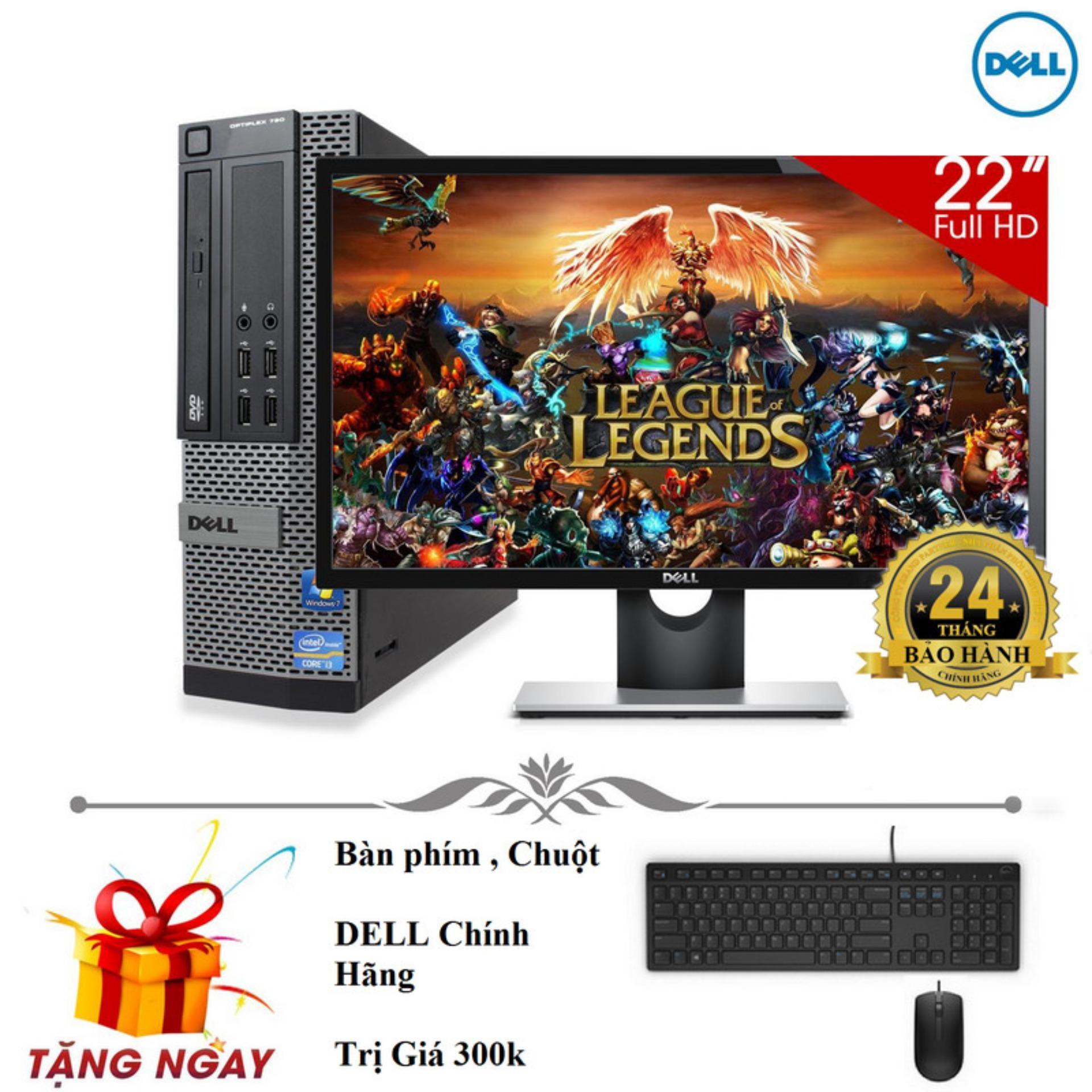 Bộ máy tính để bàn Dell Optiplex 9010 Core i5 3470, Ram 8gb, HDD 500gb Và Màn hình máy tính...