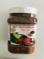 [Lấy mã giảm thêm 30%] Hộp 500g bột cacao nguyên chắt ĐĂKLĂK
