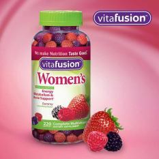 (Date: 6/2019) Kẹo Dẻo Vitafusion Women's 220 viên