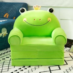 Ghế tập ngồi, ghế ăn dặm, ghế sofa cho bé ba ngăn màu xanh dành cho bé trai