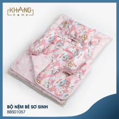 Bộ Nệm Bé Sơ Sinh Khang Home BBS01057