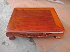 bàn osin gỗ hương campuchia kích thước 30 cm 40cm cao12 cm giá bán290k
