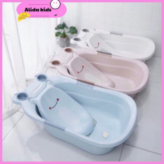 [FREESHIP] Chậu Tắm/Thau tắm cho bé sơ sinh hình ếch nhựa viêt nhật Kích thước 85*50