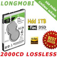 Ổ cứng 2000CD nhạc Lossless chất lượng cao