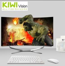 Bộ máy tính để bàn All in One Kiwivision – Tất cả trong 1 màn hình cong 24 inch full view, CPU Intel® Core™ i3-3220 (3.3 Ghz, 3MB, x2, HT x4) , Ram 4GB DDR3 1600Mhz, SSD : 250G (3-6Gbs/s) – Bộ Kiwivision Office 24H6155 Plus