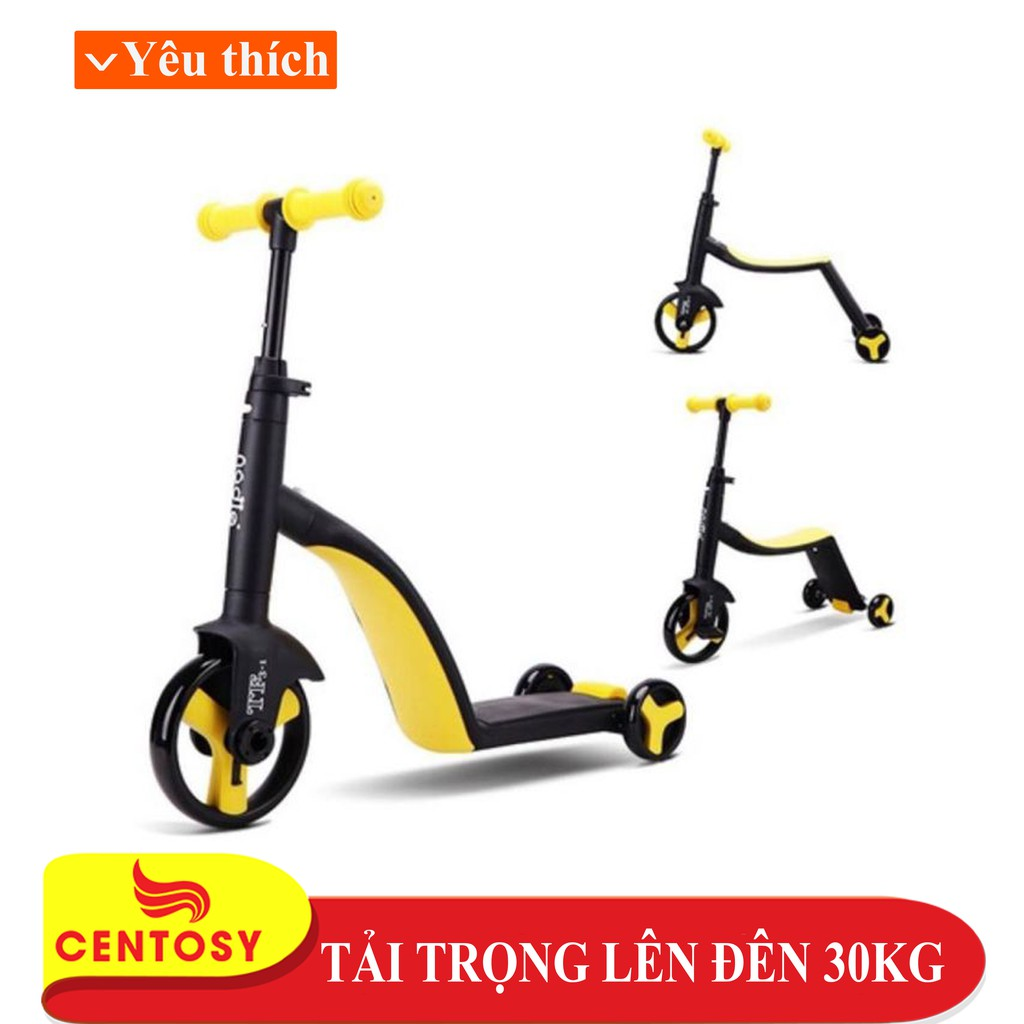 Xe Scooter Trẻ Em Cao Cấp - Nadle 3 in 1