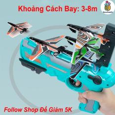 [TẶNG BÌNH NƯỚC] sung phóng máy bay cho trẻ em, đồ chơi máy bắn máy bay lượn mô hình trẻ em (GIAO MÀU NGẪU NHIÊN)