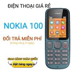 Điện thoại Nokia 100 1 Sim, hàng công ty bao sạc + Pin