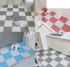 Tấm lót sànthảm nhựa lỗ kháng khuẩnchống trơntrượt kt30*30 cm sạch an toàntiện lợi