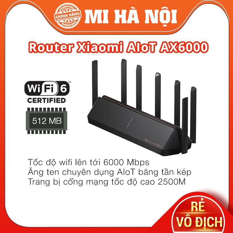 Router Wifi 6 Xiaomi AIoT AX6000 / Router Wifi 6 Xiaomi AIoT AX3600