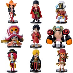 Combo Bộ 9 Mô Hình One Piece – Team Luffy