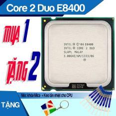 Cpu Máy Tính, Bộ Vi Xử Lý Intel, Chip Core 2 Duo E8400, CPU E8400 Dùng Cho Main G31 và Main G41 Soket 775 – Mua 1 Tặng 2.