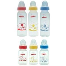 Bình sữa Pigeon PP vuông 120ml/ 240ml cổ hẹp cho bé – BEE KIDS PLAZA