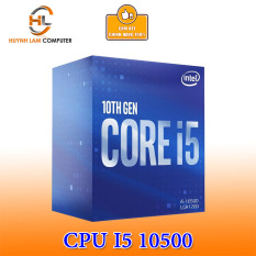 CPU Intel Core i5 10500 3.1GHz Up to 4.5GHz 6 nhân 12 luồng, 12MB Cache, 65W Socket Intel LGA 1200