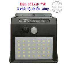 Đèn năng lượng mặt trời cảm biến hồng ngoại 35Led/7W