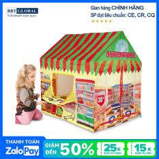 Nhà bóng trẻ em siêu thị đồ ăn 995-7055A – nhà banh, quây bóng, đồ chơi trẻ em