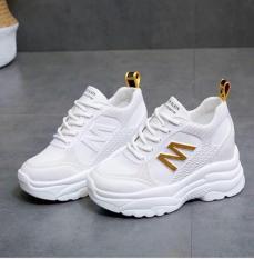 Giày thể thao nữ độn đế chữ M – giày nữ giày sneaker nữ giày nữ sneaker giày dép nữ màu trắng chất siêu đẹp thời trang hàn quốc giá rẻ cao cổ đế giày tăng chiều cao giày đi học giày công sở giày học sinh giày bts giày hot giày pro