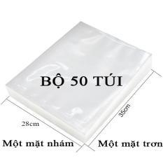 Bộ 50 Túi Hút Chân Không Một Mặt Nhám, Một Mặt Trơn (28cmx35cm)