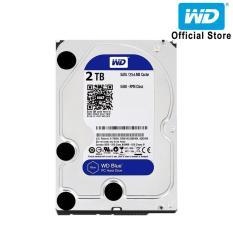 Ổ cứng HDD WD Blue 2TB 3.5 inch SATA III 256MB Cache 5400rpm WD20EZAZ