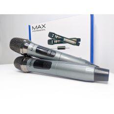 Micro đa năng Max 39, micro karaoke gia đình