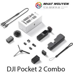 [HCM]DJI Osmo Pocket 2 Combo – Gimbal DJI Pocket 2 Combo – Bảo hành 12 tháng