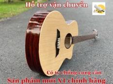 Đàn guitar acoustic có ty chỉnh cần 2 chiều – Tặng kèm BAO ĐỰNG ĐÀN + GIÁO TRÌNH HỌC ĐÀN + PICK GÃY + DÂY SƠ CUA.