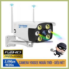 Camera Yoosee Ngoài trời 2MP – FULL HD 1080P – Quay đêm có màu, đàm thoại 2 chiều