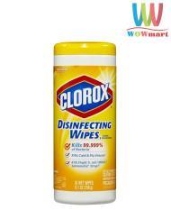 Khăn Clorox diệt khuẩn Clorox Disinfecting Wipes 35 miếng