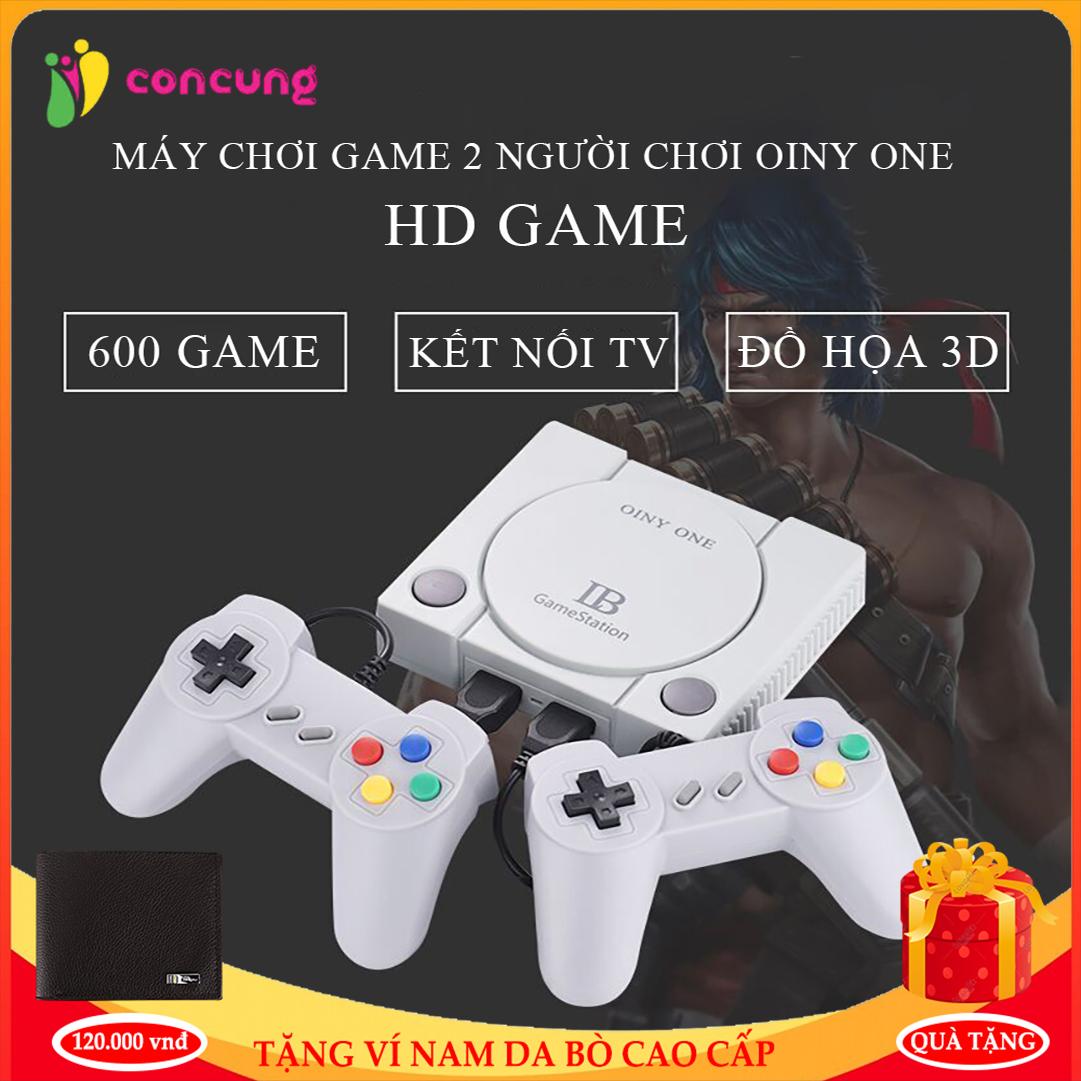 Tháng 11:   Bảo Hành 2 Năm Lỗi 1 đổi 1   Máy Trò Chơi Cổ Điển OINY ONE, Máy  chơi game điện tử 4 nút 600 trò chơi IB Gamestation (600 Games) giá chỉ  385.000₫