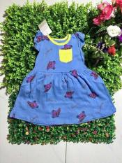 Đầm Bé Gái Đáng Yêu Chất Cotton 4c Mát Mịn Từ 8-25Kg