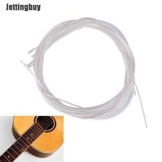 Bộ 6 Dây Đàn Guitar Jettingbuy, Mạ Bạc, Chất Liệu Nylon, Siêu Nhẹ, Dùng Cho Ghi-ta Acoustic