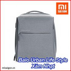 Balo Xiaomi Mi City Backpack – Urban Life Style – Xám Nhạt